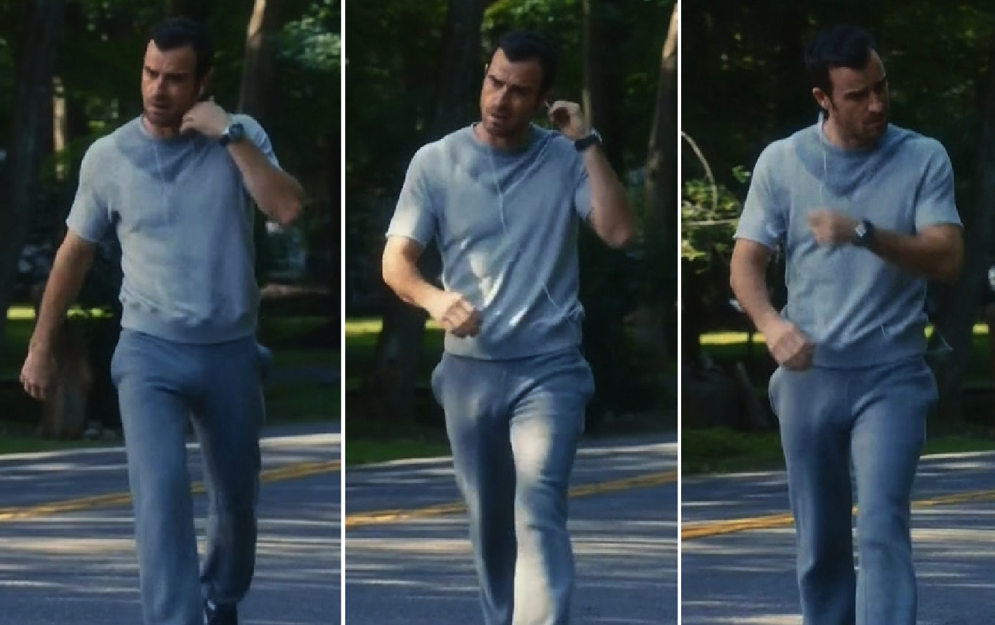 Justin Theroux jokes he used break dancing to propose to
